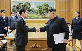 Kim Jong Un and Moon Jae-in meet for historic inter-Korean summit