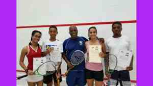 National Squash Player Tahjia Lumley is Youngest Jamaican to Achieve Coaching Certification