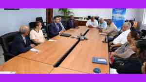 Prime Minister Andrew Holness Meets with Petrojam Management