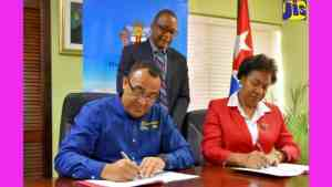 Jamaica and Cuba Sign Agreement to Extend Eye Care Programme