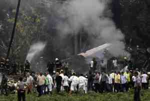 PLANE CRASH IN CUBA , KILLING OVER 100 PEOPLE