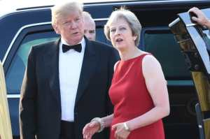 Trump blames Theresa May for Brexit debacle in explosive interview