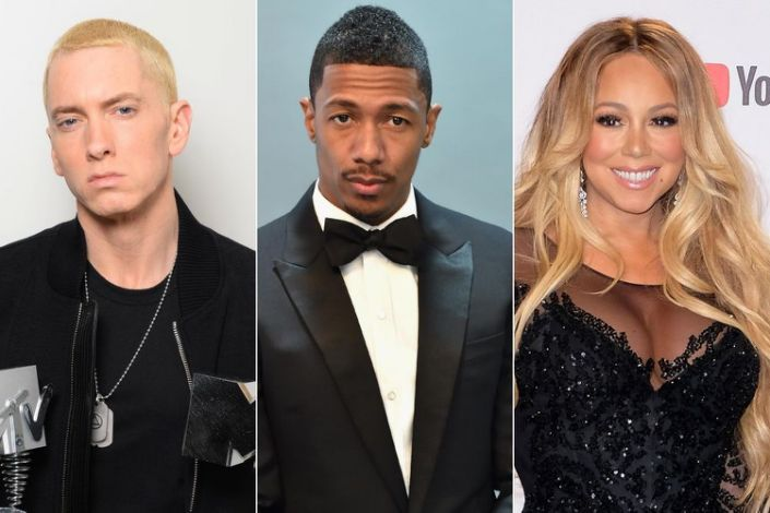 Nick Cannon Responds to 'Grandpa' Eminem's Latest Mariah Carey Diss, Invites Him to Wild 'N Out