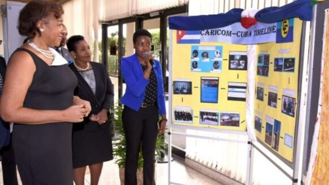 Foreign Affairs Ministry Mounts Exhibit on Cuba-CARICOM Relations