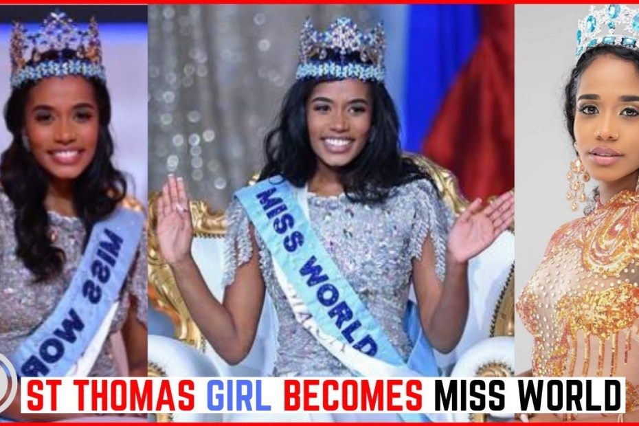 Jamaica's Toni-Ann Singh WINS Miss World 2019