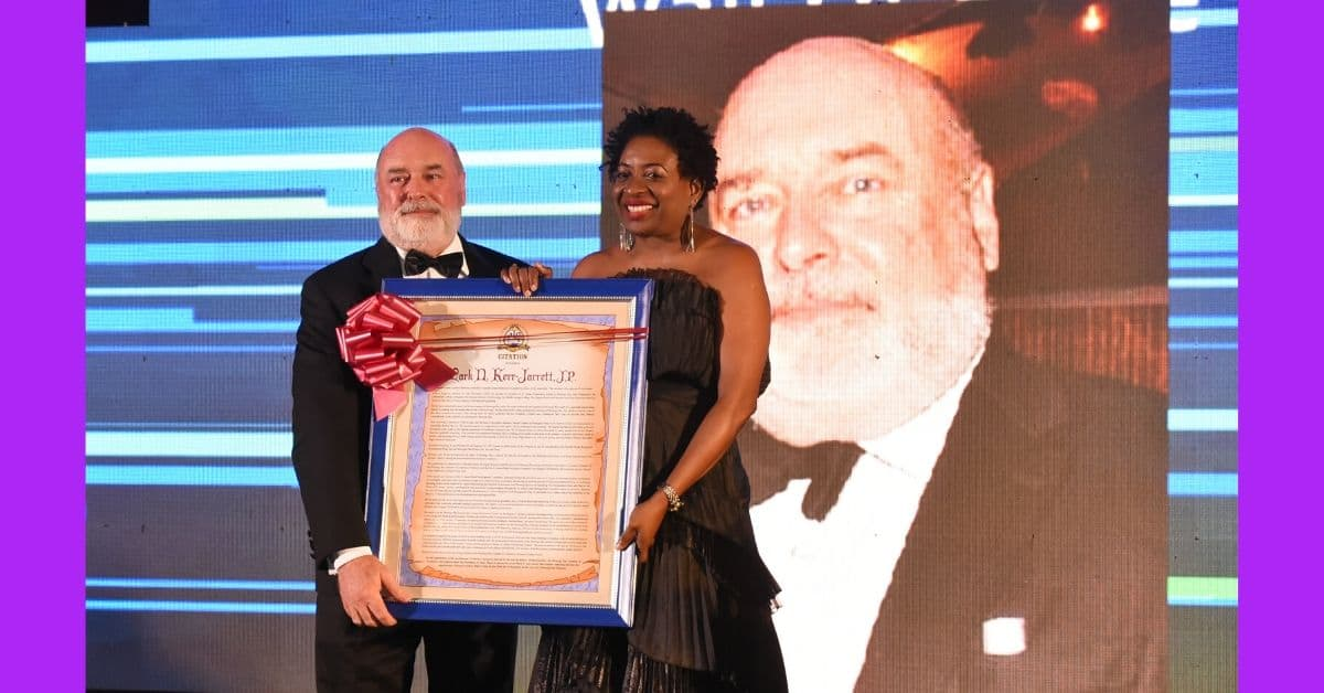 Popular Montego Bay businessman Mark Ker-Jarret Honoured