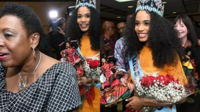 Jamaica News: Miss World, Jamaica's Toni-Ann Singh, is back home In Jamaica