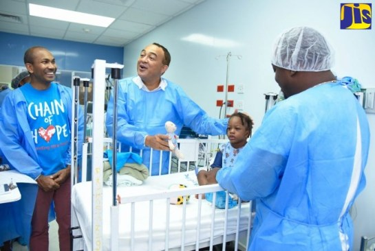 New Ward To Be Constructed At Bustamante Hospital For Children