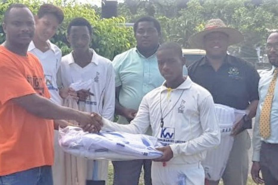 Cricket Gears Donation