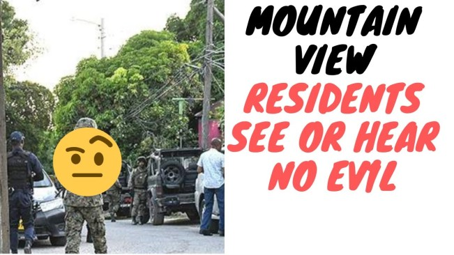 Mt View Residents Say Police Fail Dem But Should They Get Some Of The Blame?