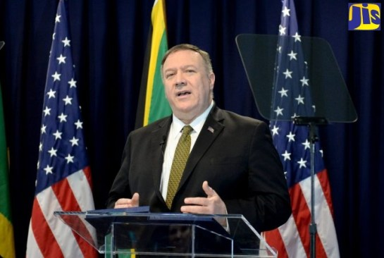 Pompeo Says US Wants To Work More Closely With The Caribbean To Combat Threats