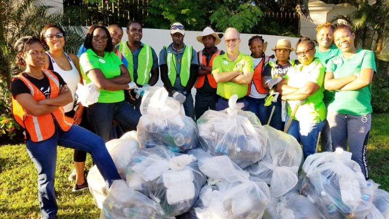 Sandals South Coast Starts the New Year Clean