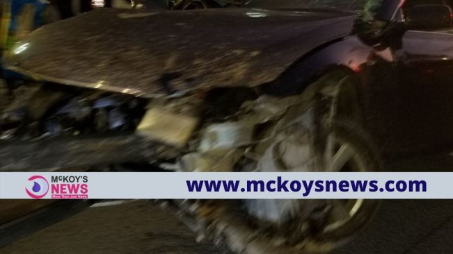 Two Dead in Early Morning Crash on Barnett Street