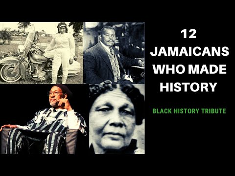 12 JAMAICANS WHO MADE INTERNATIONAL HISTORY