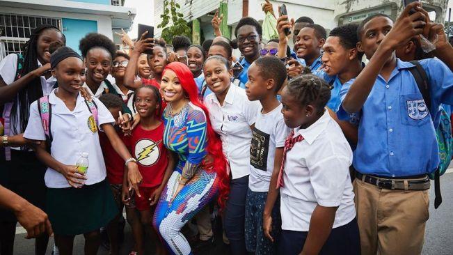 Nicki Minaj Donates $25K To St. Jude's Home For Girls In Trinidad & Tobago