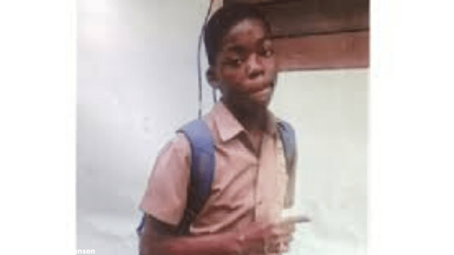 15-year-old Tahjae Smith Missing, from Kingston