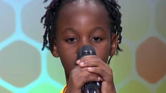 9-Yr-Old St. Catherin Girl Toriann Beckford Is Spelling Bee Champ!