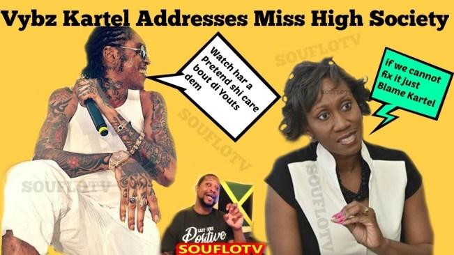 Vybz Kartel vs Miss High Society