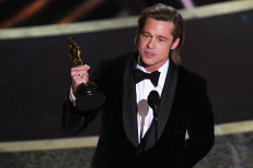 Brad Pitt thanks his kids in Oscars 2020 acceptance speech