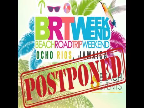 BRT Weekend postponed