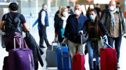 Coronavirus: EU entry ban hits travellers as lockdown widens