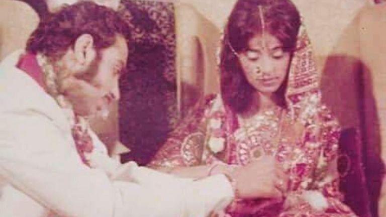 Happy Anniversary to Mr. & Mrs. Lachu Ramchandani