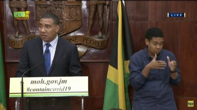 Jamaica's Coronavirus Task Force Update – March 23, 2020