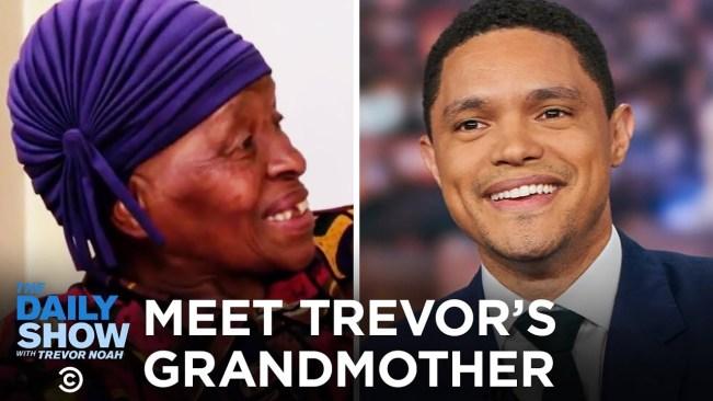 Trevor Interviews His Grandmother