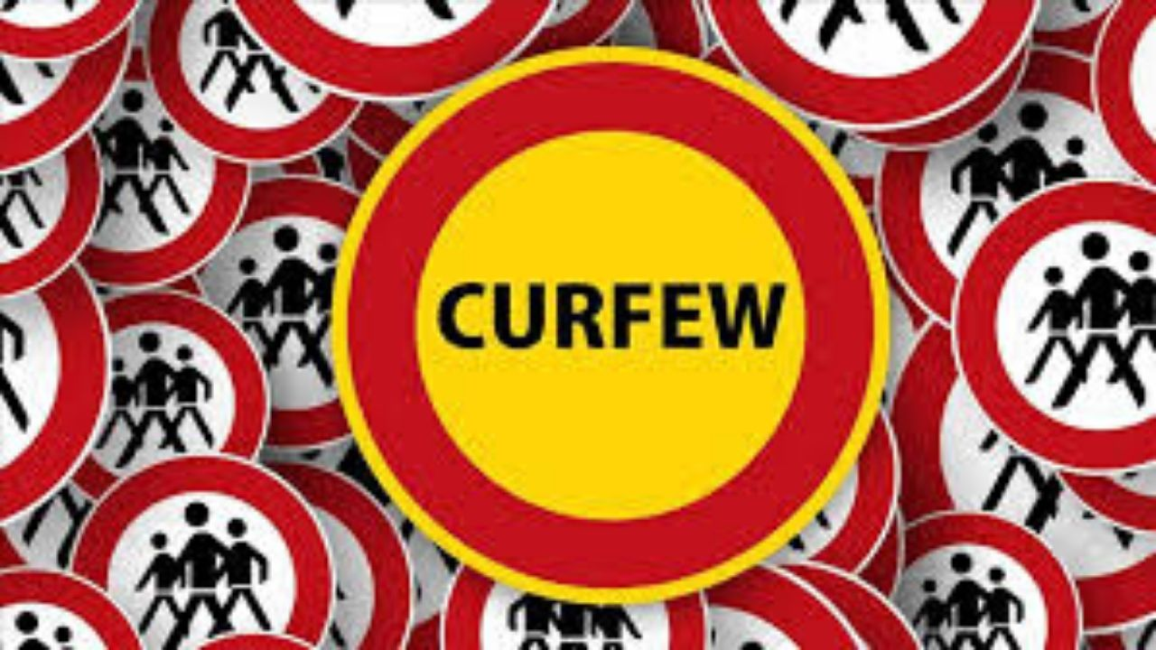 curfew - Mckoy's News