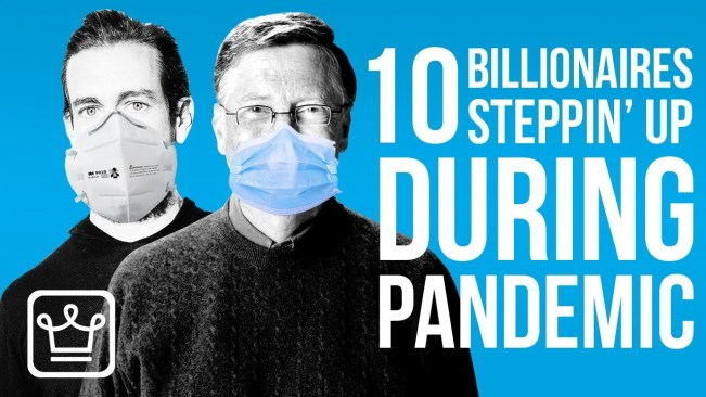 10 BILLIONAIRES That Are Stepping Up During the Pandemic