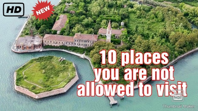10 CREEPY PLACES that you are not allowed to visit