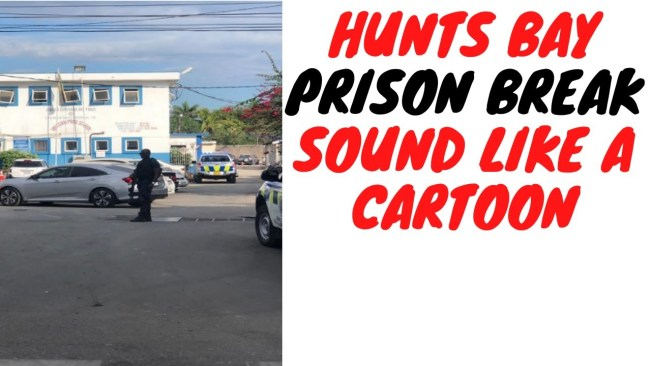 8 Prisoners Escape From Hunts Bay And Police Claim This Is How They Did It