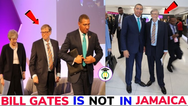 Bill Gates is NOT in Jamaica