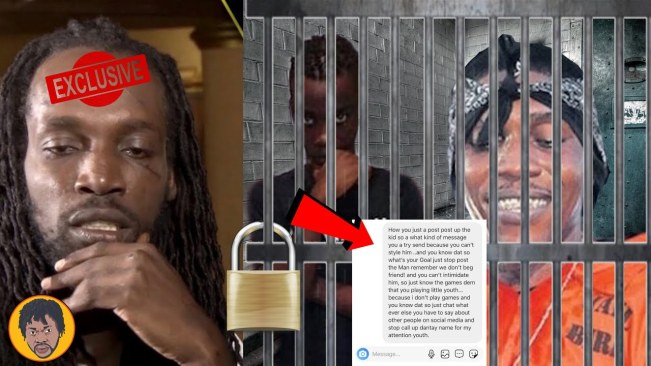 Mavado Message Vybz Kartel On Instagram Direct And Put Him In His Place For His Son