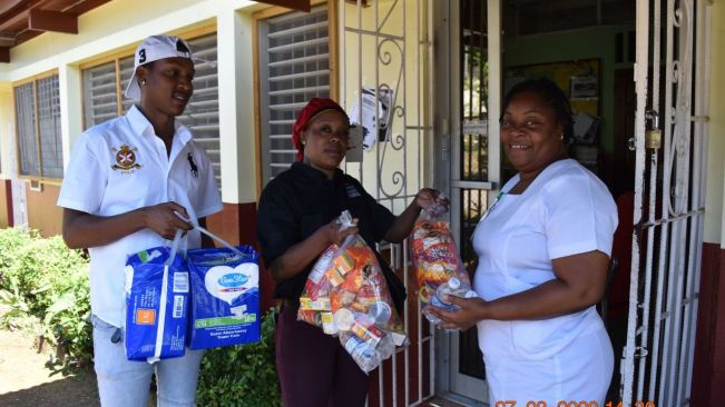 MoBay businesses donate care packages to St James Infirmary