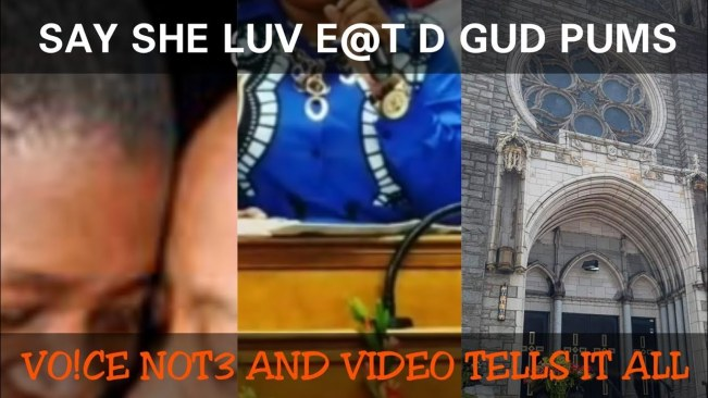 Shocking Voice Note – Jamaican Lesbian Pastor gets Exposed by her ex woman