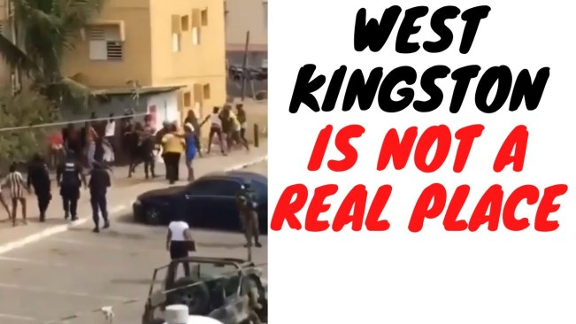 This Video Shows Why West Kingston Is On A Different Level When It Comes To Disregard For The Law