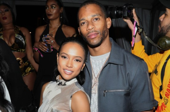 Victor Cruz and Karrueche Tran FaceTime '20 hours a day'
