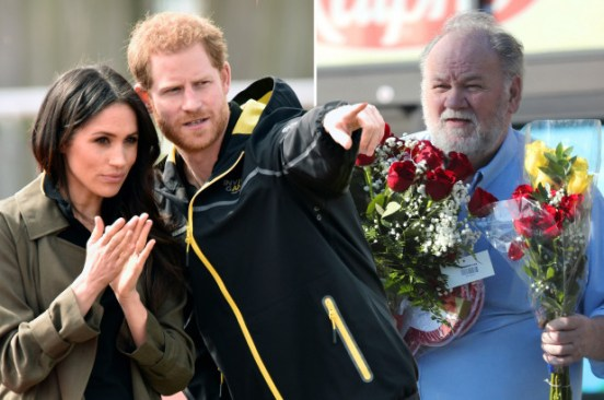 Prince Harry texted Meghan Markle's dad before royal wedding, court docs show