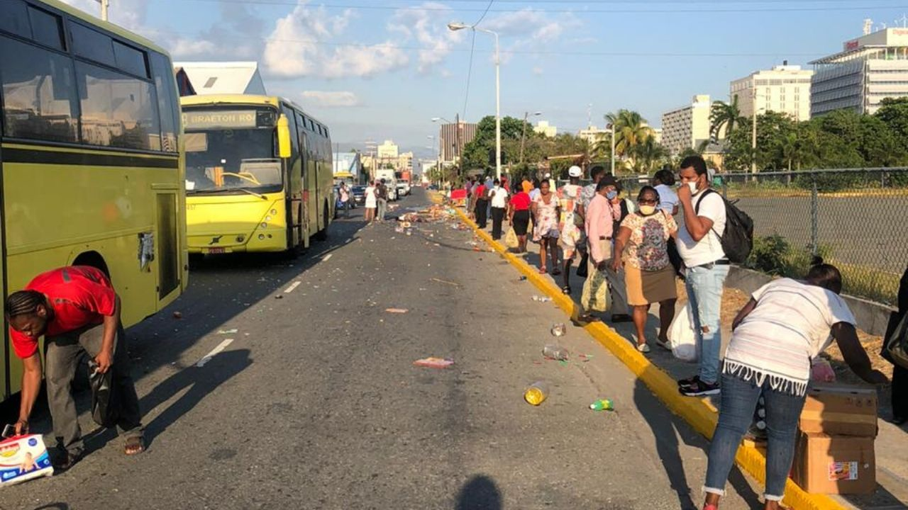 Woman Allegedly Died On Spot From Being Mowed Down By A JUTC Bus