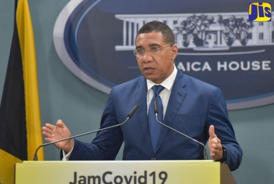 PM Holness Announces State of Emergency in Kingston Central and Kingston Western Police Divisions
