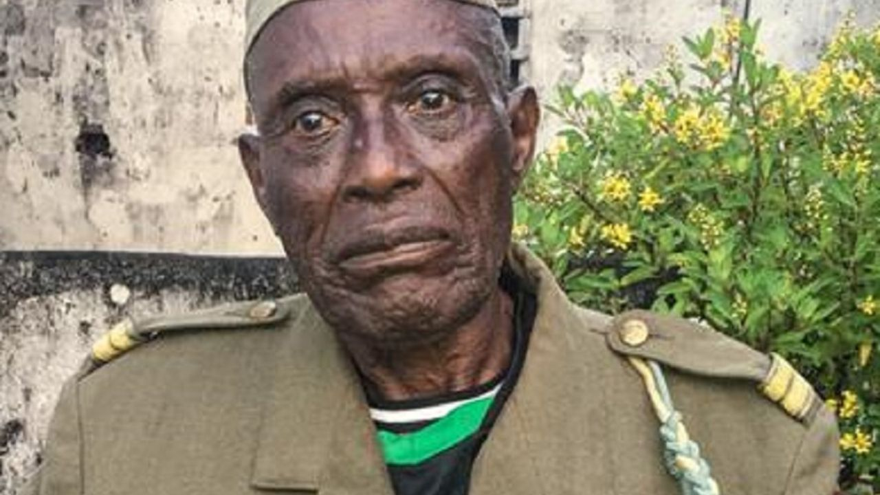 DR Congo's one of two last remaining WWII veterans dies at 95