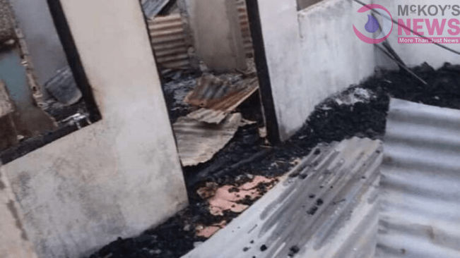 Video: Elderly Couple Loses Almost All in Fire