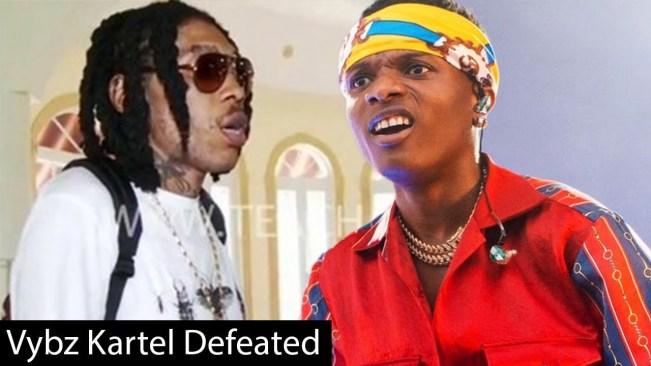 Vybz Kartel Get Beat-Up By Wizkid