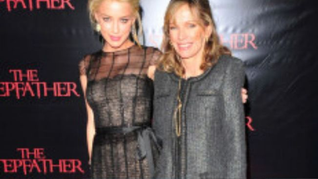 Amber Heard mourns the death of her mother, Paige Heard
