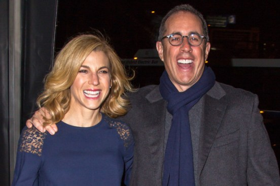 Jerry Seinfeld is getting on wife Jessica Seinfeld's nerves