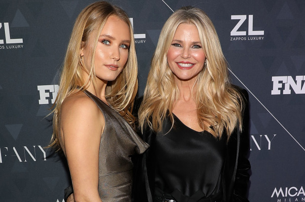 Christie Brinkley didn't know full extent of Sailor's body image issues