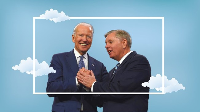 Lindsey Graham praises Joe Biden in what might be 'the best campaign ad ever,' according to Harvard prof
