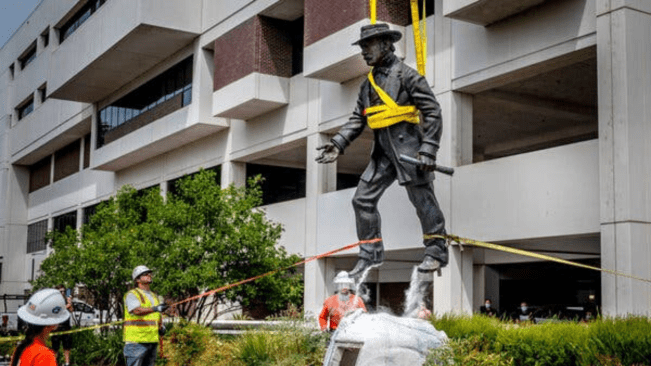 From Columbus to Confederates, Anger About Statues Boils Over