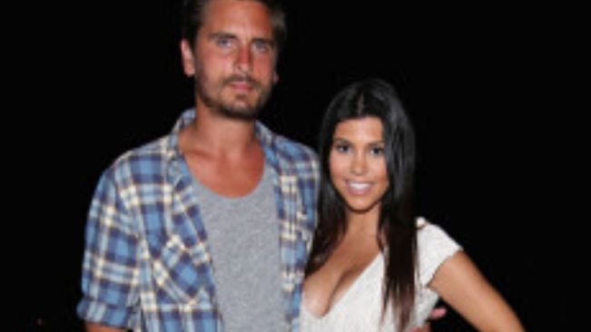 Kourtney Kardashian wears Scott Disick's shirt after Sofia Richie breakup